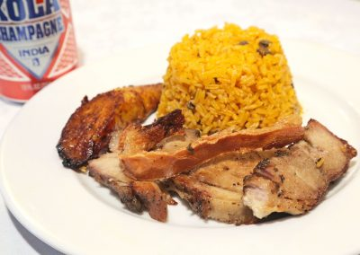 Pernil lunch